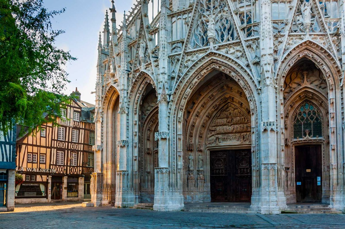 Eglise Saint-Maclou à Rouen