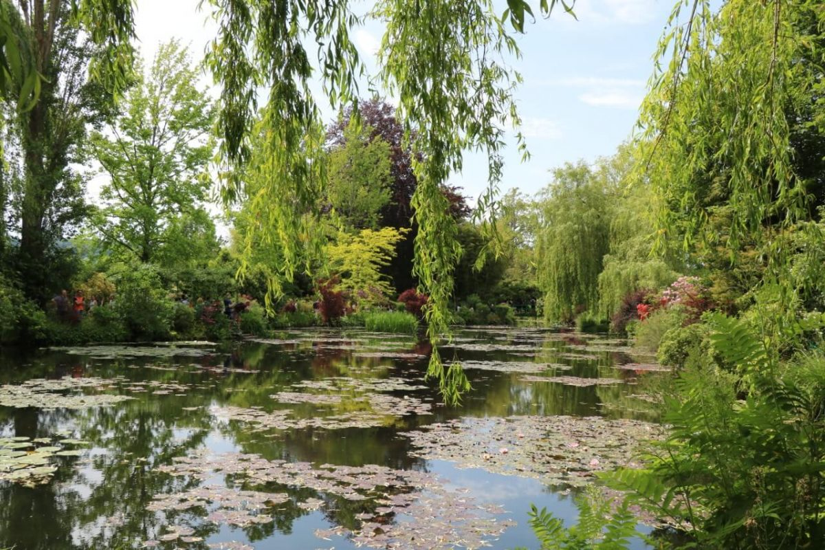 Les jardins de Claude Monet à Giverny