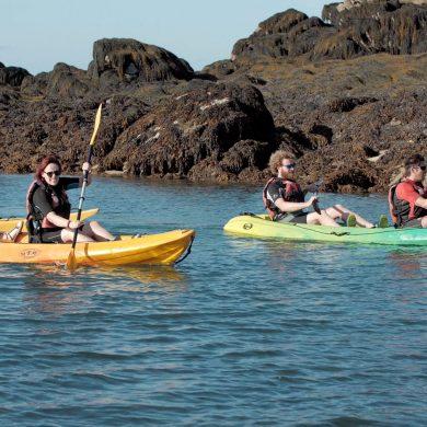Nuestro increíble paseo en kayak hacia las islas Chausey