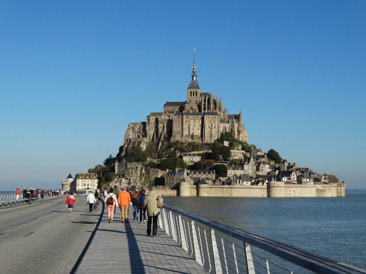 Cómo Llegar Al Monte Saint Michel Turismo De Normandía Francia