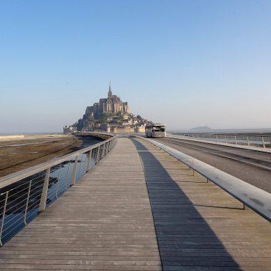 Cómo llegar al Monte Saint-Michel