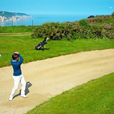 Iniciación al golf gratis en Normandía