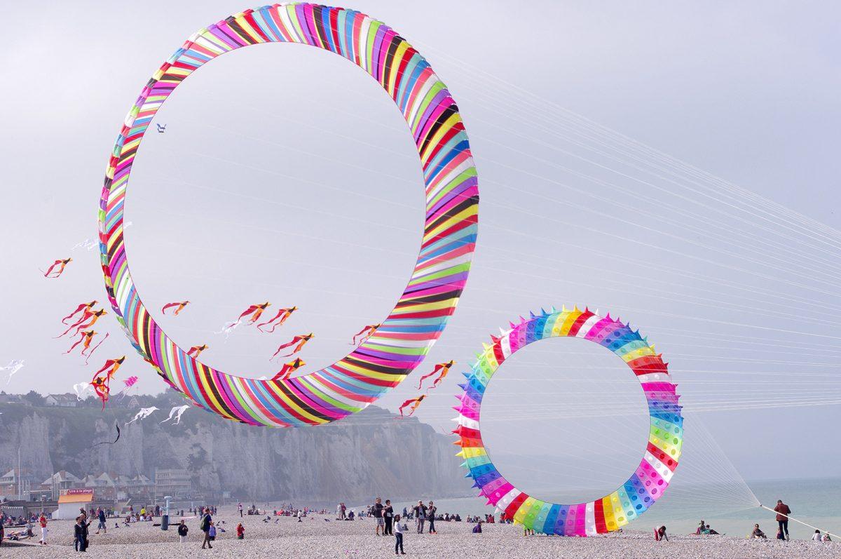 Festival du cerf-volant à Dieppe