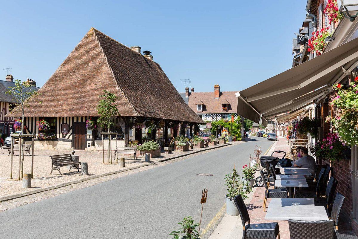 Centre-ville de Beuvron-en-Auge
