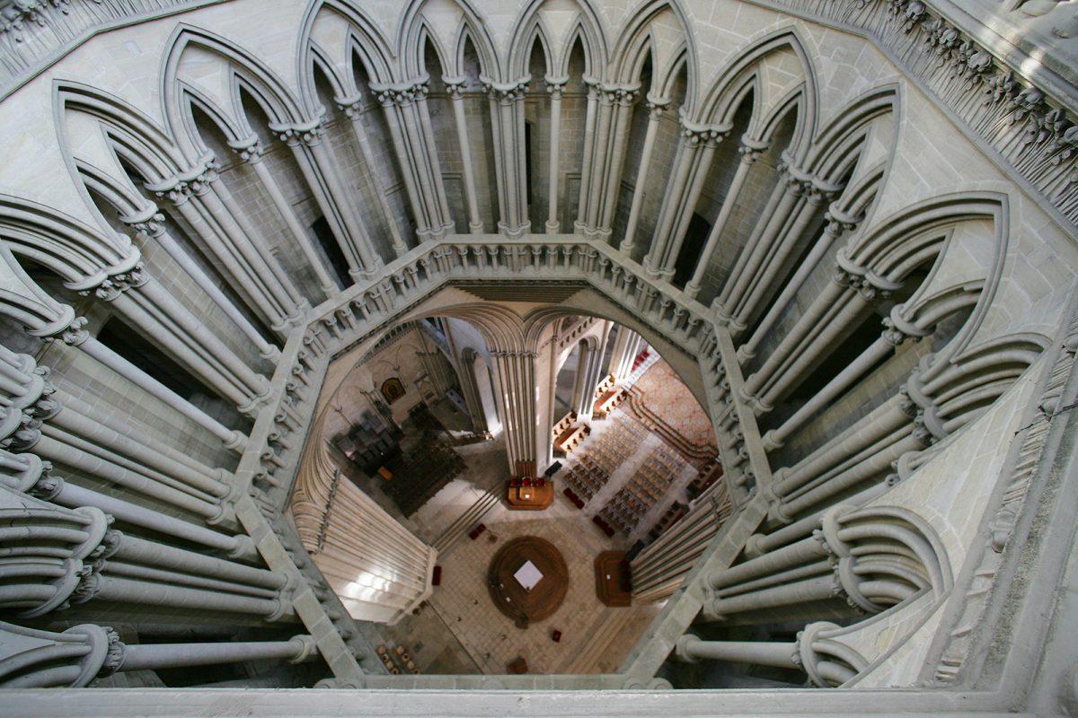 L'intérieur de la Cathédrale de Coutances