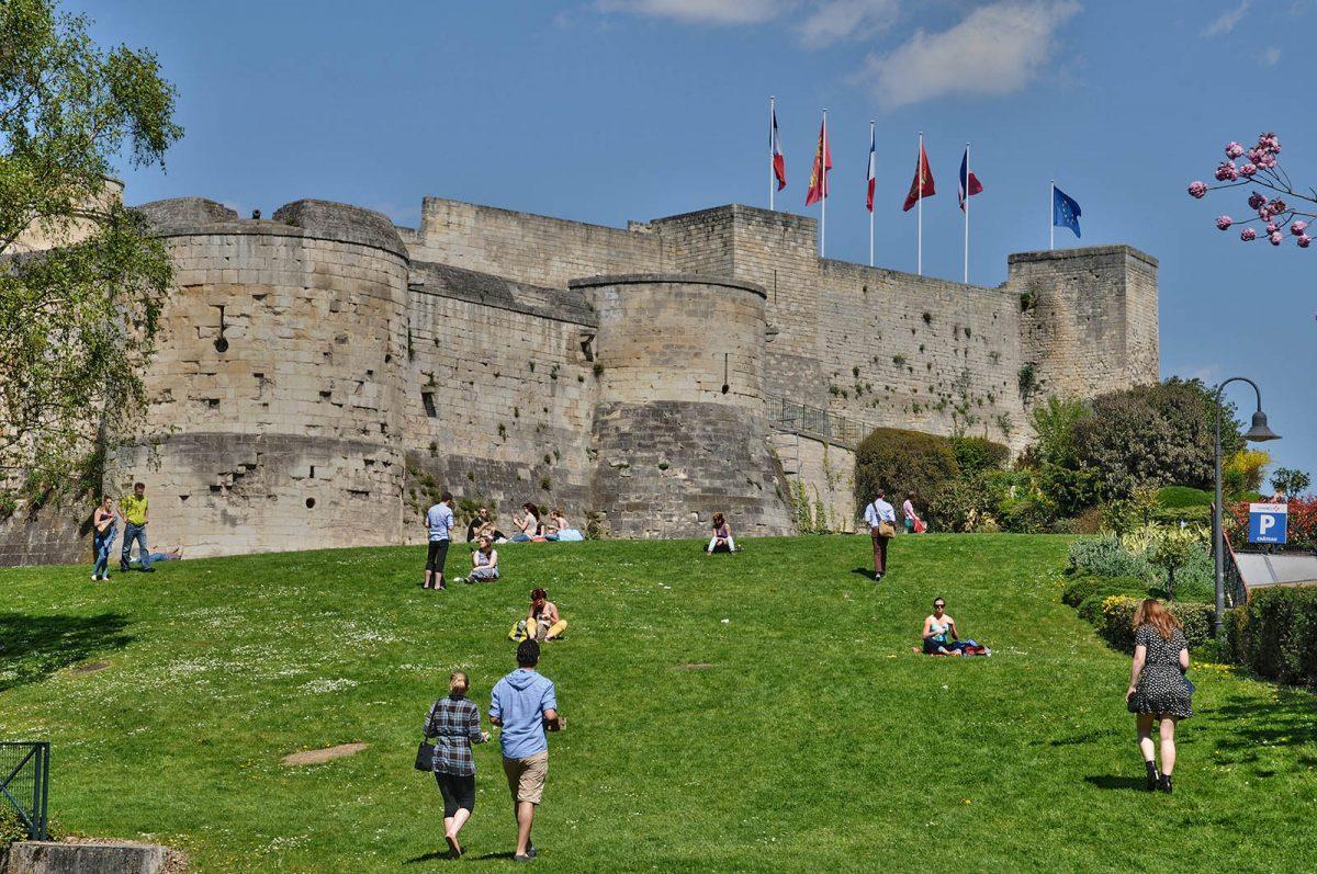 Castilllo de Guillermo el Conquistador en Caen