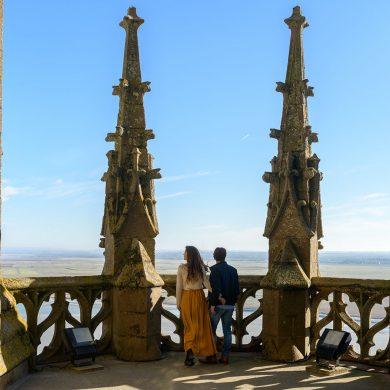 Lugares reconocidos por la Unesco en Normandía