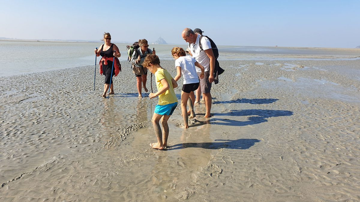 immersion nature en baie du Mont-Saint-Michel en famille - expérience