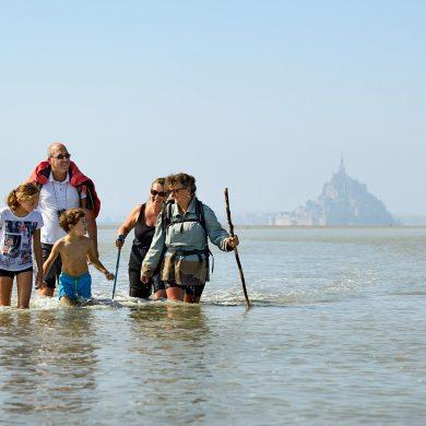 Un sentimiento de pura libertad en la bahía del Monte Saint-Michel