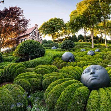 Parques y jardines de Normandía