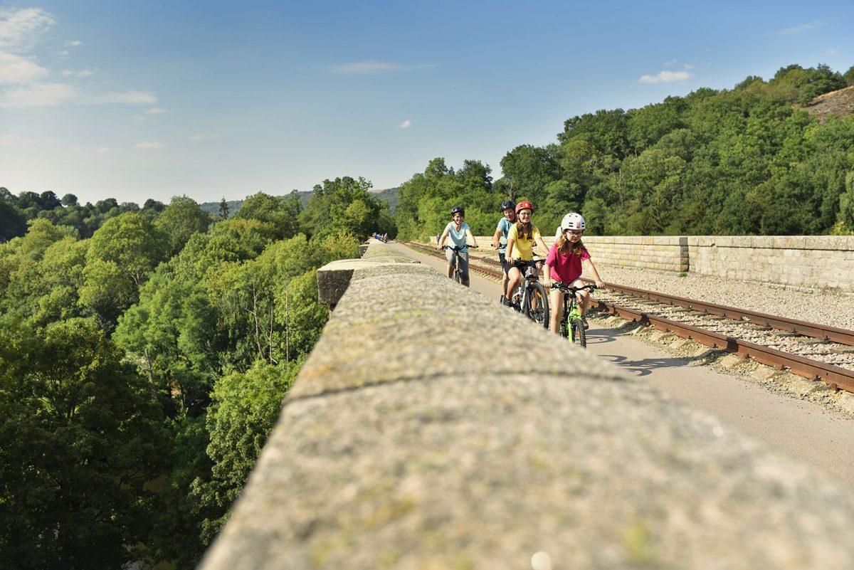 Itinéraire vélo francette en famille