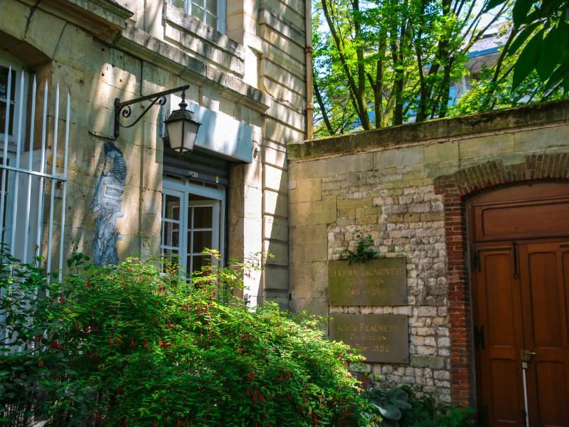 Jardín del museo Flaubert
